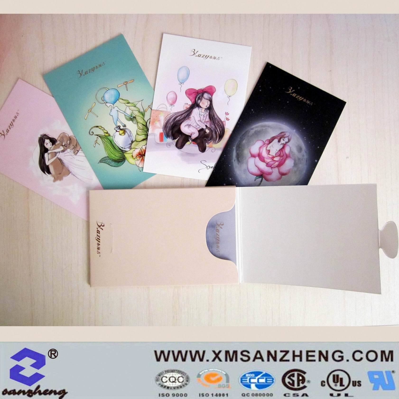 China full color clear inventory control permanent outdoor paper animation cards china paper card hang tag