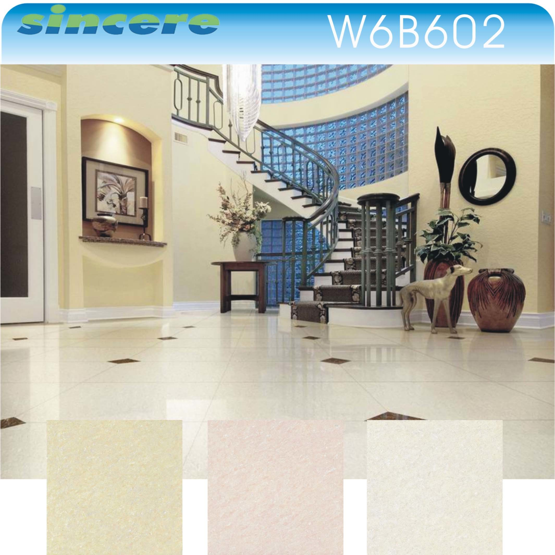 China Modern Wholesale Department Polished Terrazzo Floor Tiles Ceramic