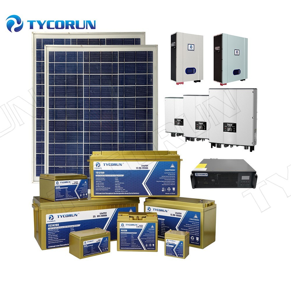Tycorun Tesla Powerwall Hybrid Grid 48V LiFePO4 Lithium Ion Battery 10kwh Solar Home Energy Storage System