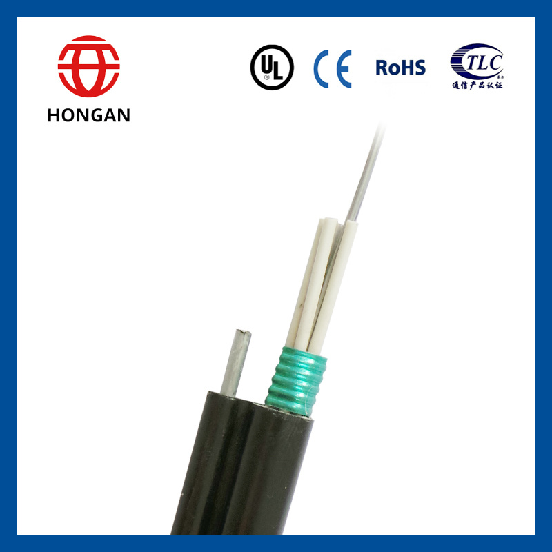 China 2017 Fiber Optic Cable with Messenger Wire GYTC8S - China ...