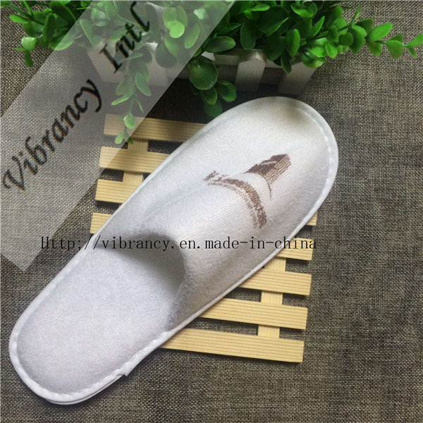 Logo Printed Customized Promotional Hotel Slipper