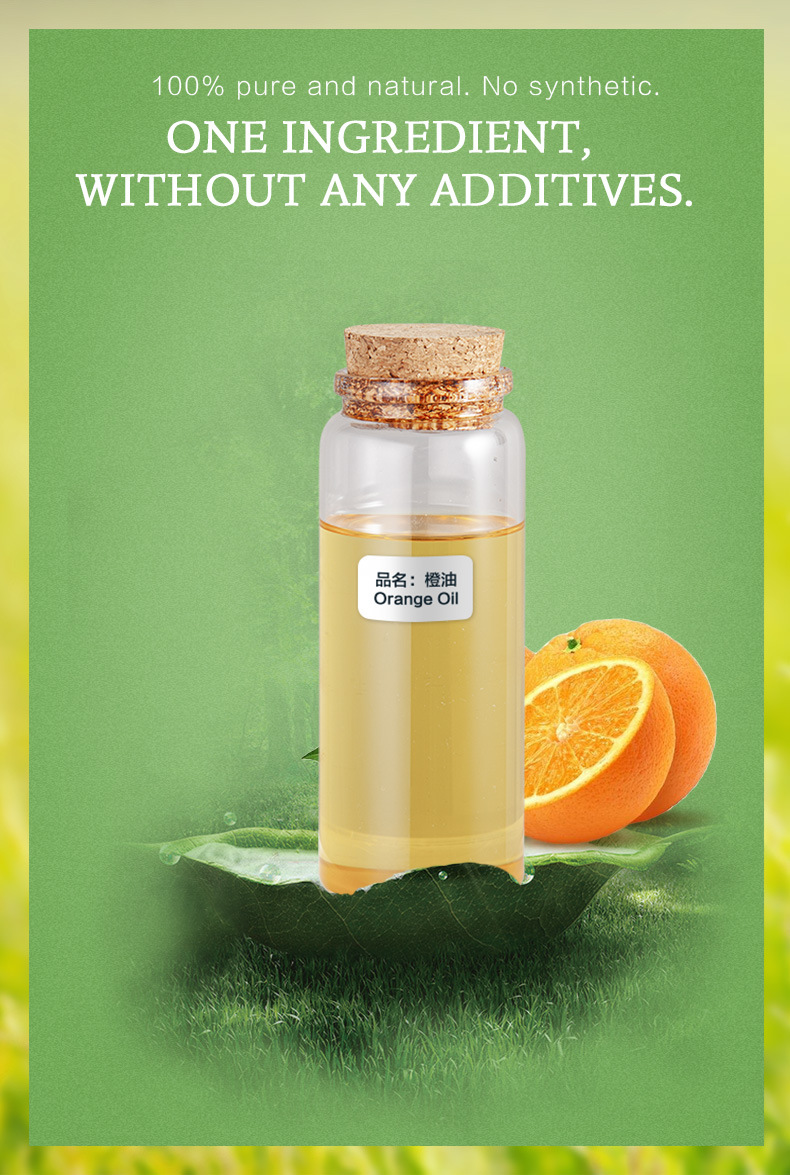 China 20 Pure Natural Orange Essential Oil for Skin Whitening ...