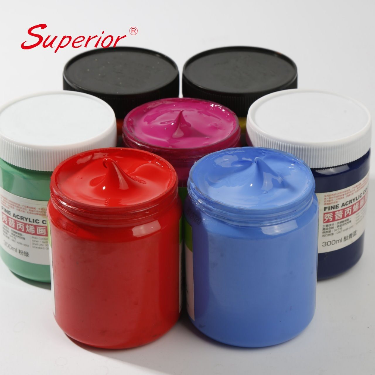 China Superior 42 Colors 100 300 500 Ml Drawing Acrylic Color Set Famous Painting With Cheap Price China Non Toxic Acrylic Color Paint Set Color Well Acrylic Color Paint Set