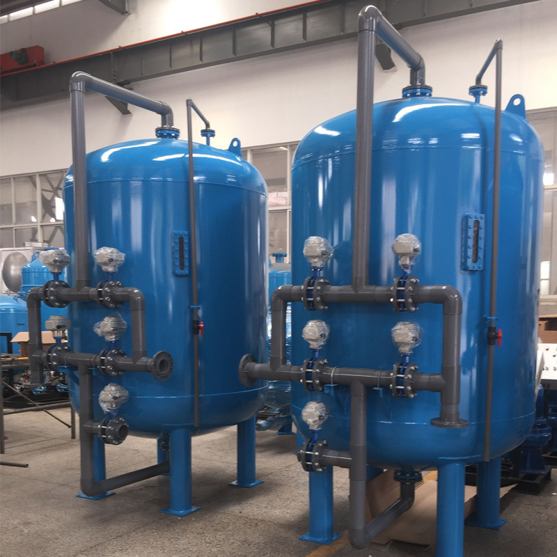 China Industrial Sand Filter Pressure Vessels with Internal Rubber Lining -  China Water Treatment, Water Filter