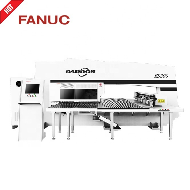 [Hot Item] D-Es300 Fanuc Rexroth Controller CNC Servo Turret Punch Press  Machine