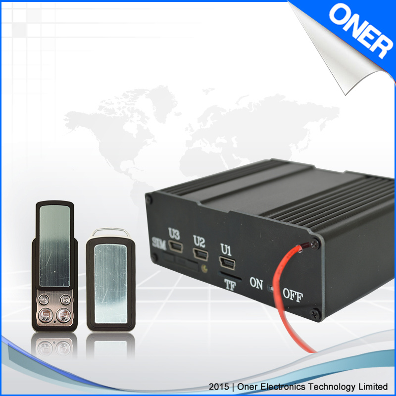 GPS Vehicle Tracker with Auto Lock Car Door Funticon pictures & photos