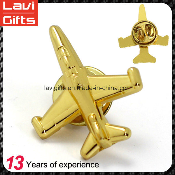 Promotion Gift Wholesale Custom Soft Enamel Logo Gold Metal Lapel Pins pictures & photos