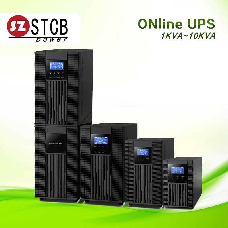 [Hot Item] Input Voltage Range 110-300 VAC Generator Compatible High  Frequency Online UPS