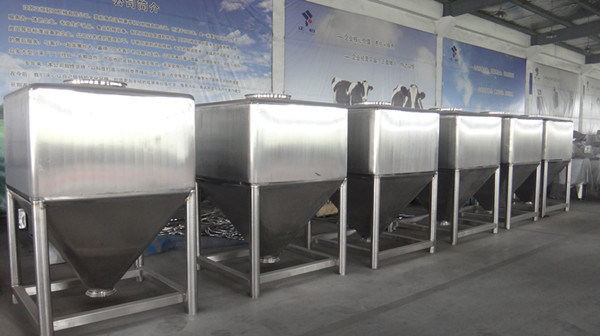 Large Stainless Steel IBC Tanks for Storage