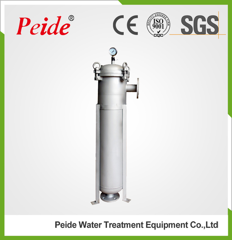 304 Stainless Steel Industrial Liquid Bag Filter Housing pictures & photos