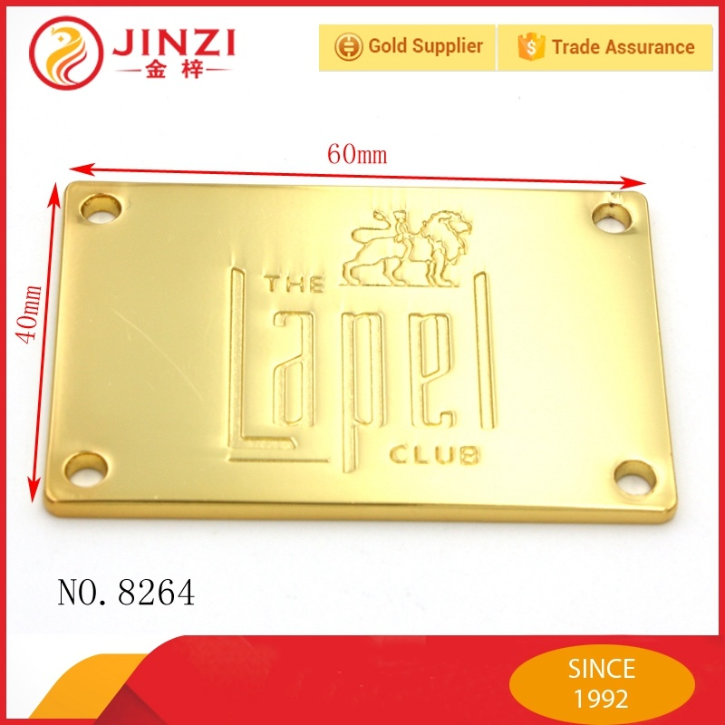 Custom Clothing Labels Engraved Metal Tags Metal Tags d5c415ea84456