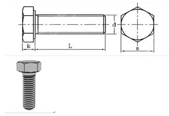 En14399-4 Structural Bolt for Steel Structure