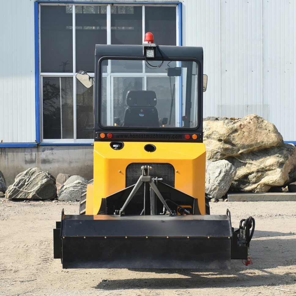 [Hot Item] 2019 New Design Tractor Front End Wheel Loader with Quick Hitch  for Different Attachment