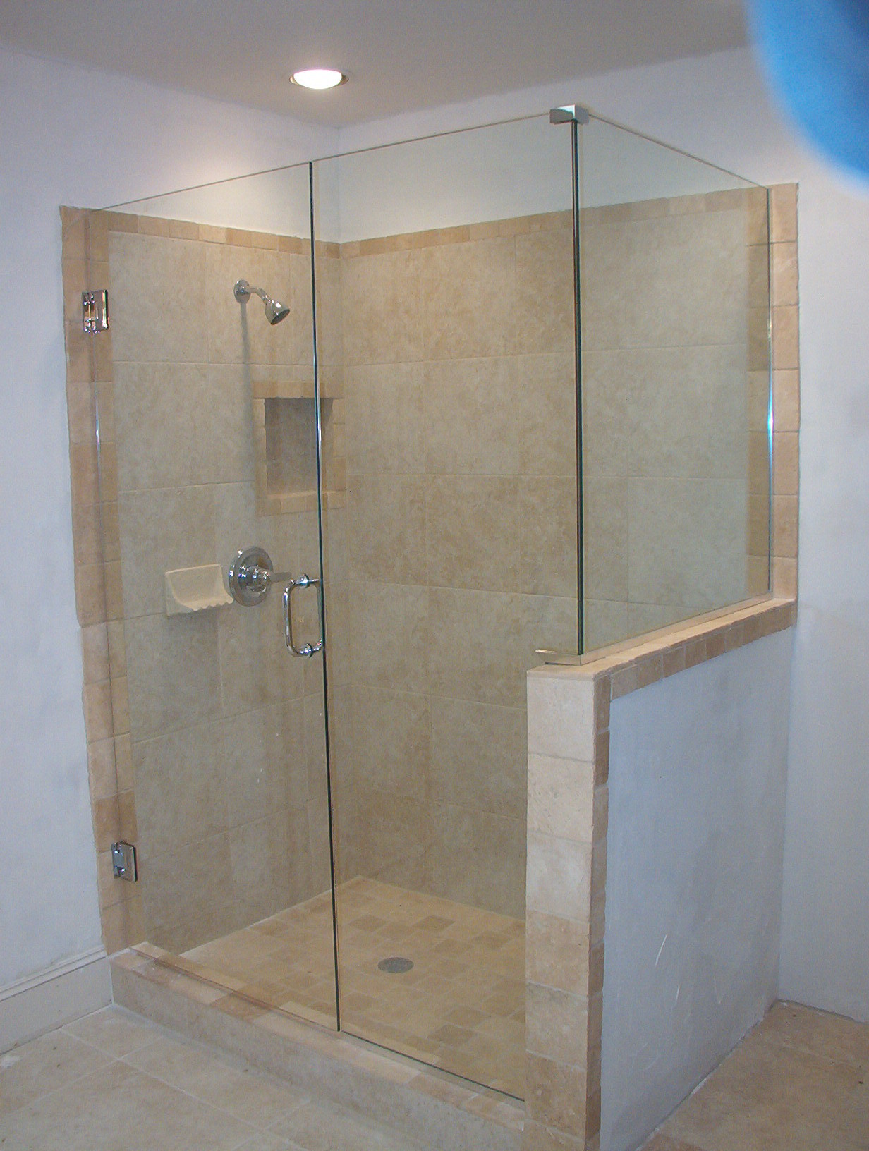 Tempered Glass Shower Doors Cleaning Glass Decorating Ideas