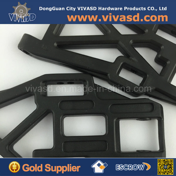 Black Plastic Material CNC Customize Parts RC Parts pictures & photos