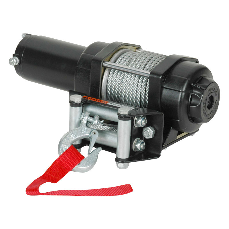 ATV Electric Winch with 3000lb Pulling Capacity (Updated Model)