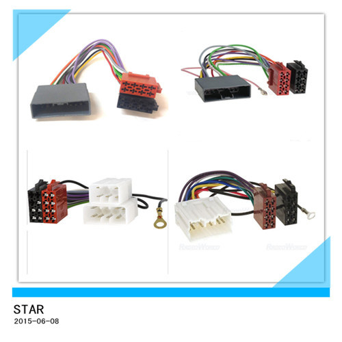 china universal audio iso male female plug wire harness custom rh starconnect en made in china com