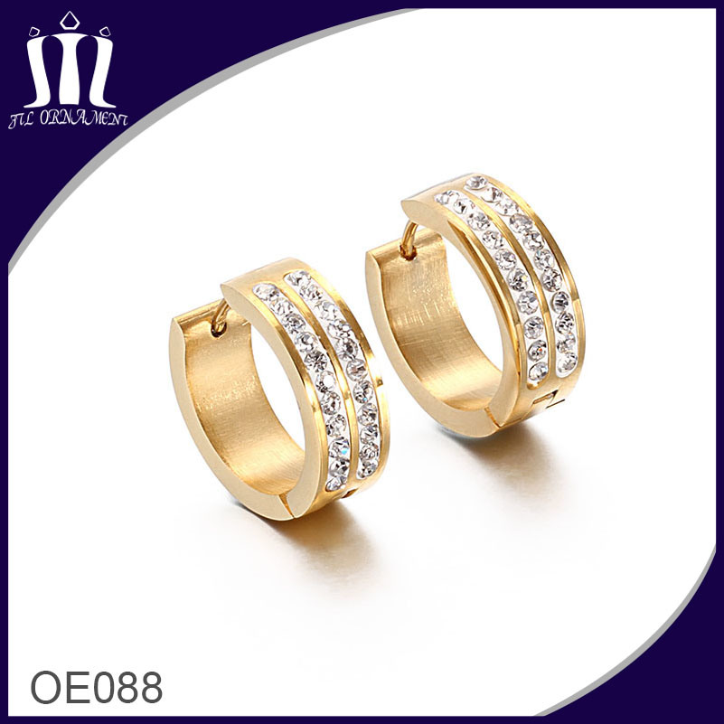 New 2017 Latest Gold Earring Designs