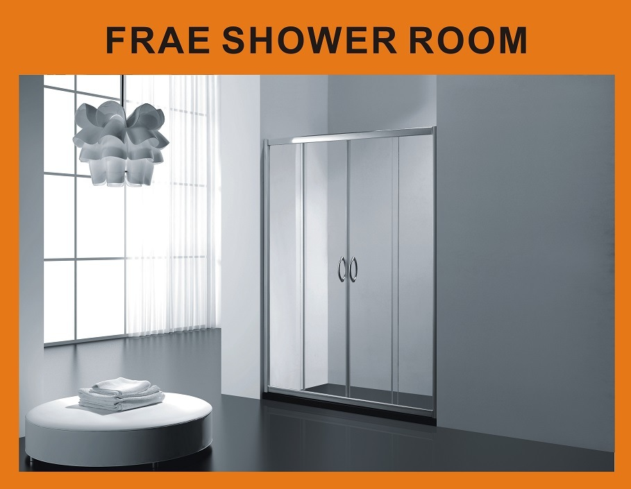 China Hot Sale Bathroom Shower Glass Screen Shower Cubicle Shower ...