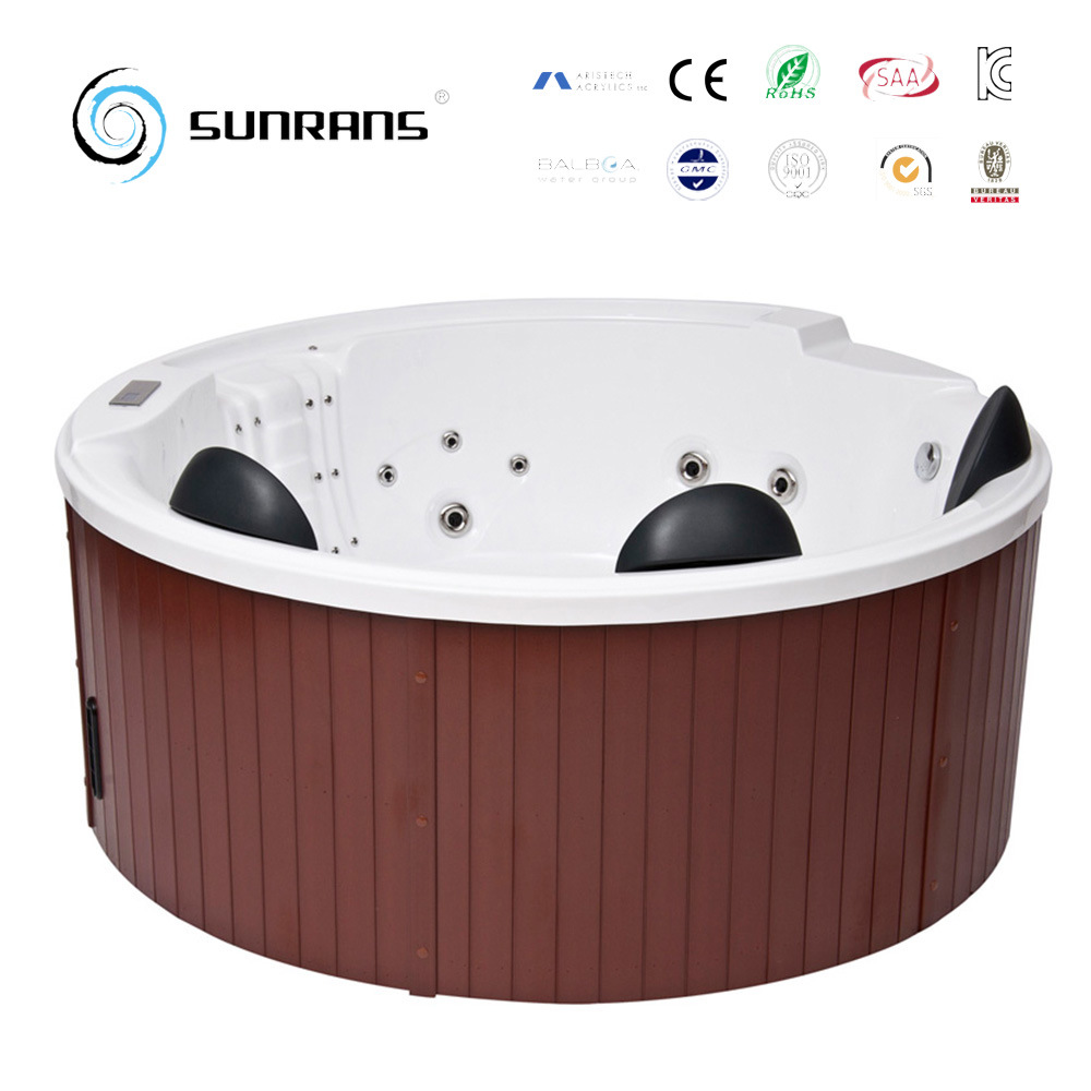 China 2017 New Design Indoor Outdoor Wooden SPA Baths Tub with TV ...