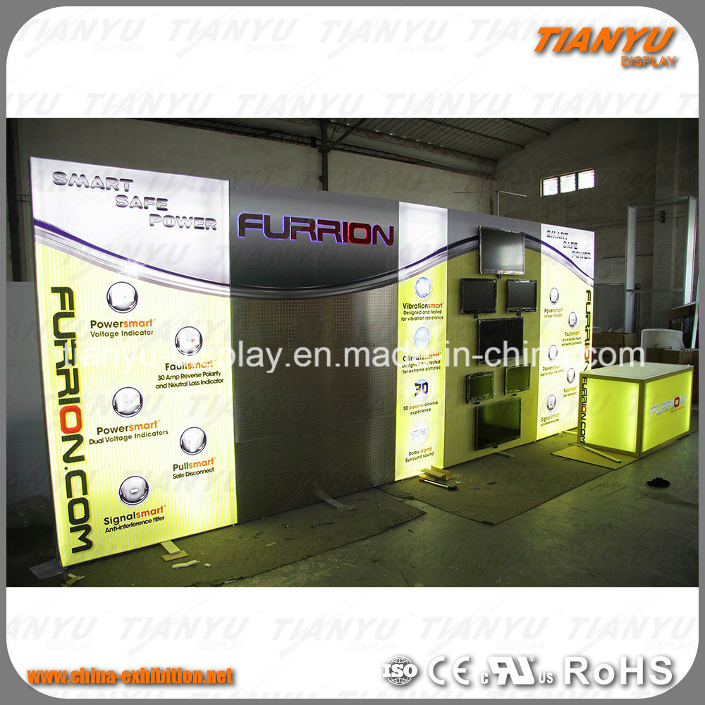 Exhibition Stand Lighting : China super fancy exhibition stand with led lights china