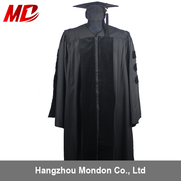 China Us Style Economy Doctoral Graduation Gown for Sale Photos ...