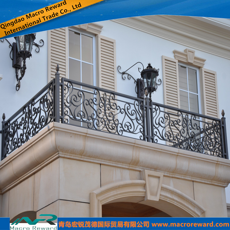 Awesome China Metal Steel Outdoor Balcony Guardrail Hardrail Railing   China Steel  Guardrail, Steel Rail
