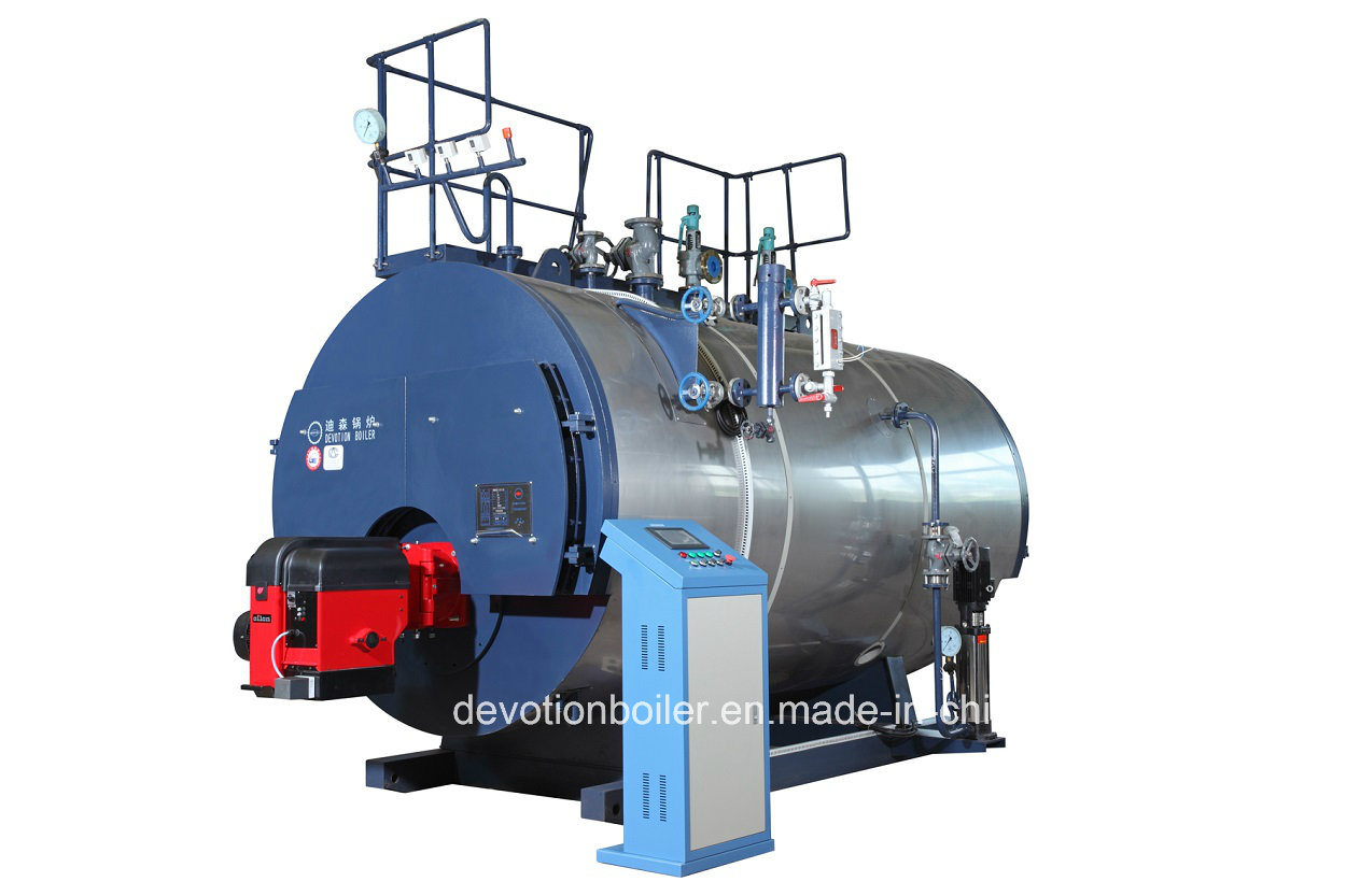 China Fuel Gas/Diesel/Heavy Oil 70bhp Steam Boiler - China Steam ...
