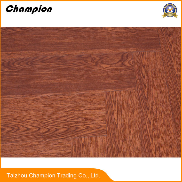 China Pvc Flooring With Wood Grain Uv Coating And High Gloss Commercial Vinyl