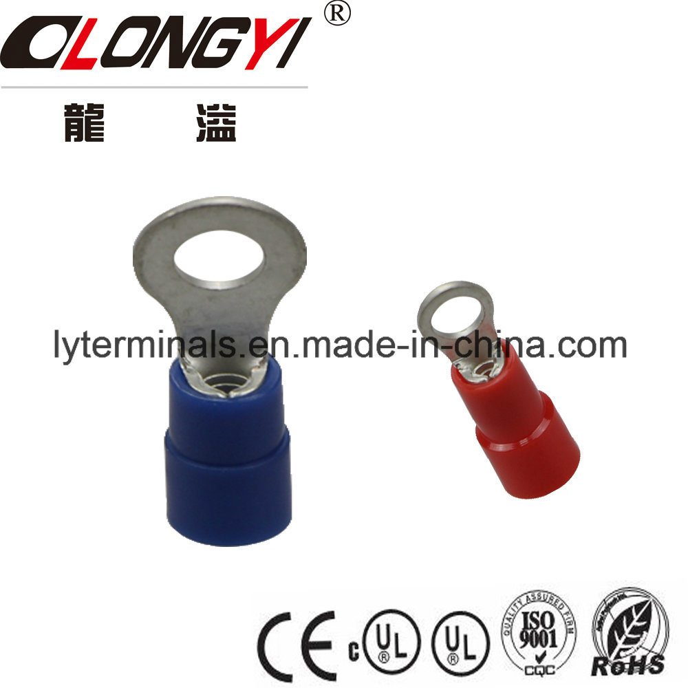 China Nylon Fully Insulated Female Quick Disconnect Wire Spade Crimp Terminal China Cable Lugs Cable Connector