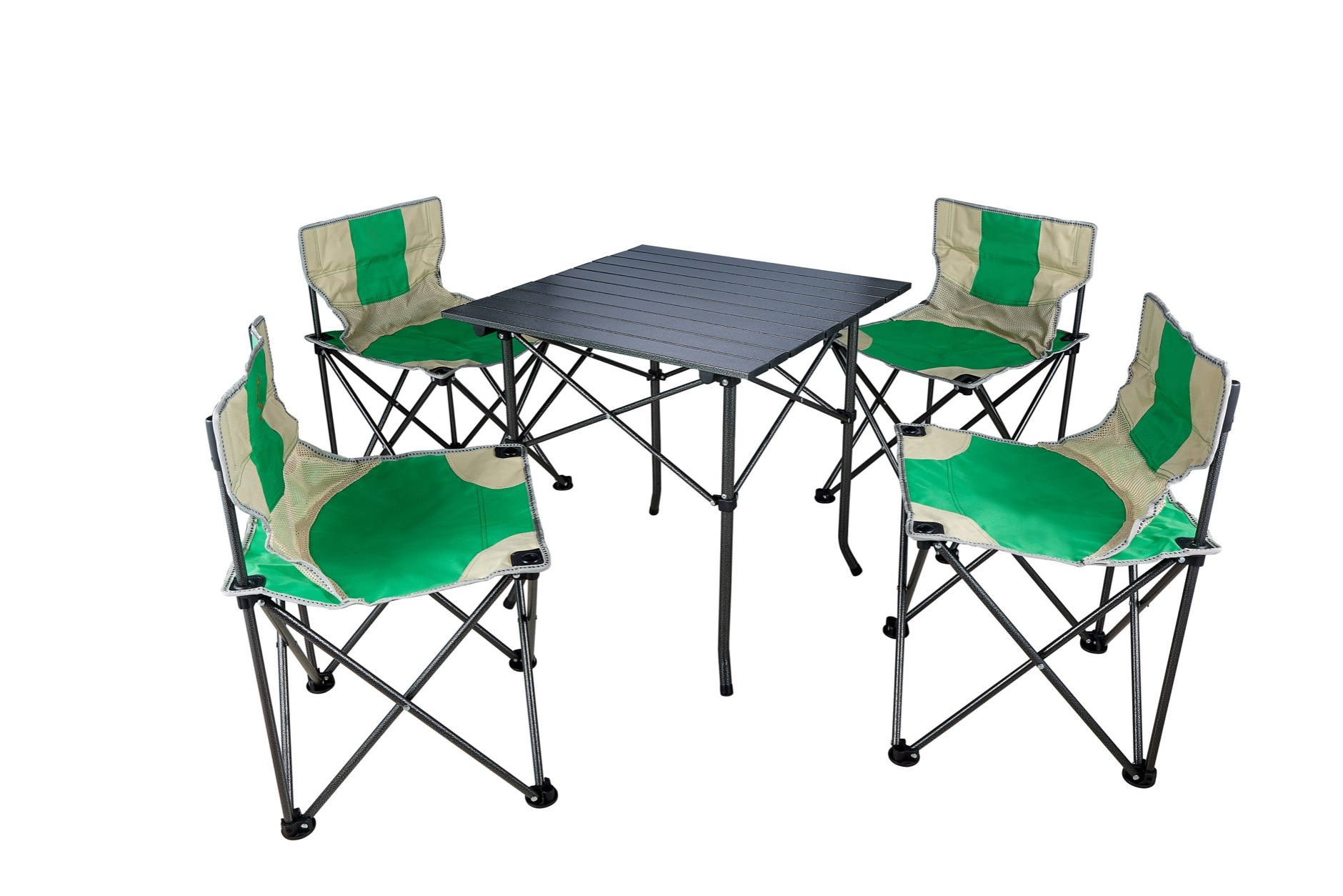 - China Folding Table And Chair Set For Family Party In Outdoor