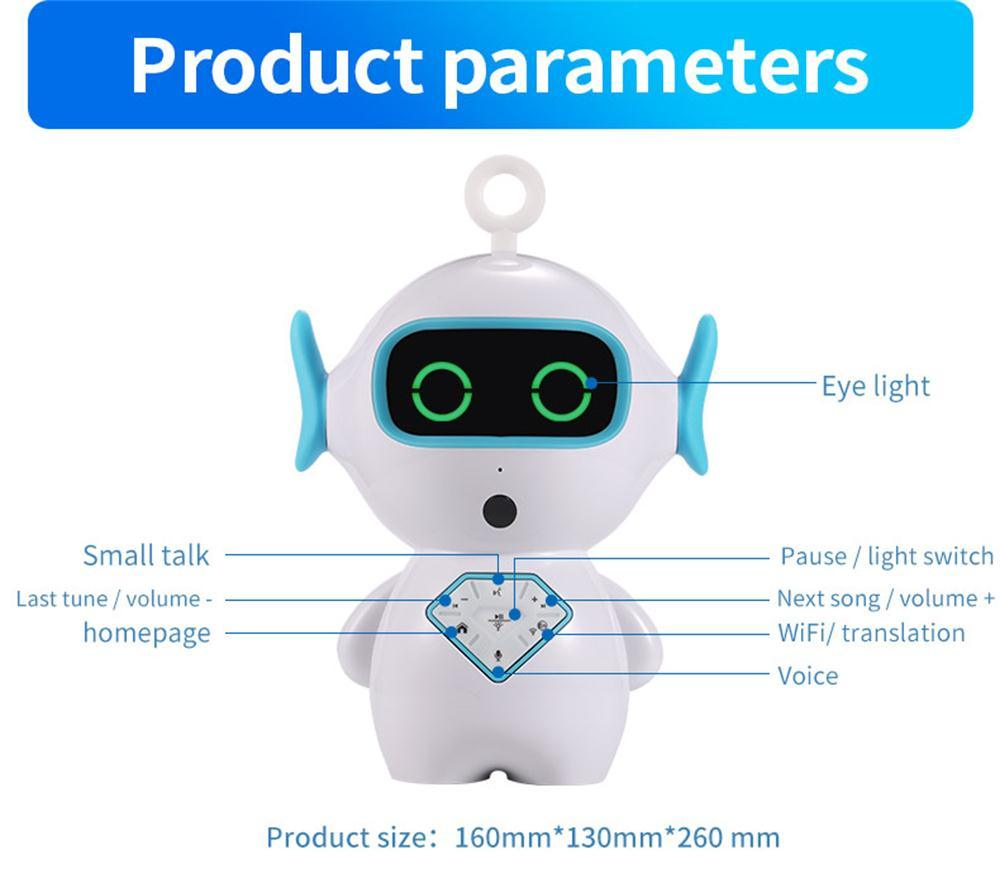 China Timethinker Kids Smart Early Education Ai Robot WiFi