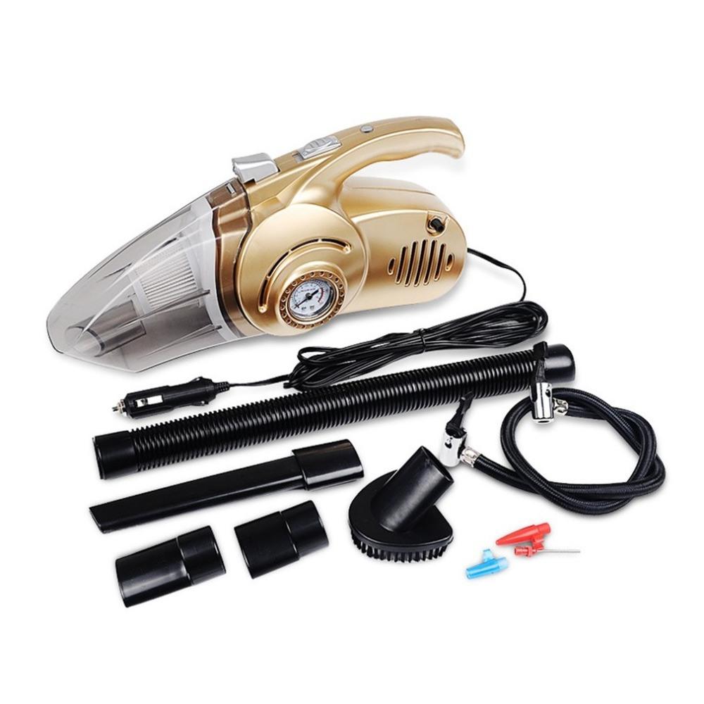 Mini Car Vacuum >> Hot Item 120w Multi Function Car Vacuum Cleaner Handheld Auto Portable 12v Mini Car Air Compressor Tyre Inflator Infaltion Pump