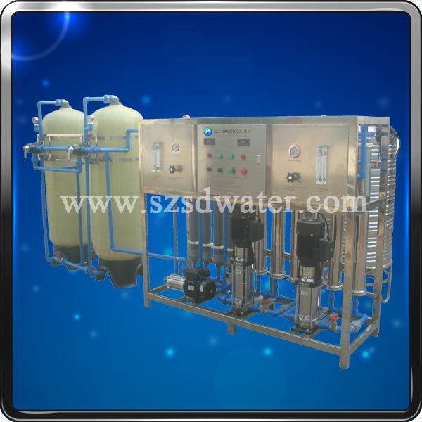 RO 2000L/H Mineral Water RO Filtration Machine
