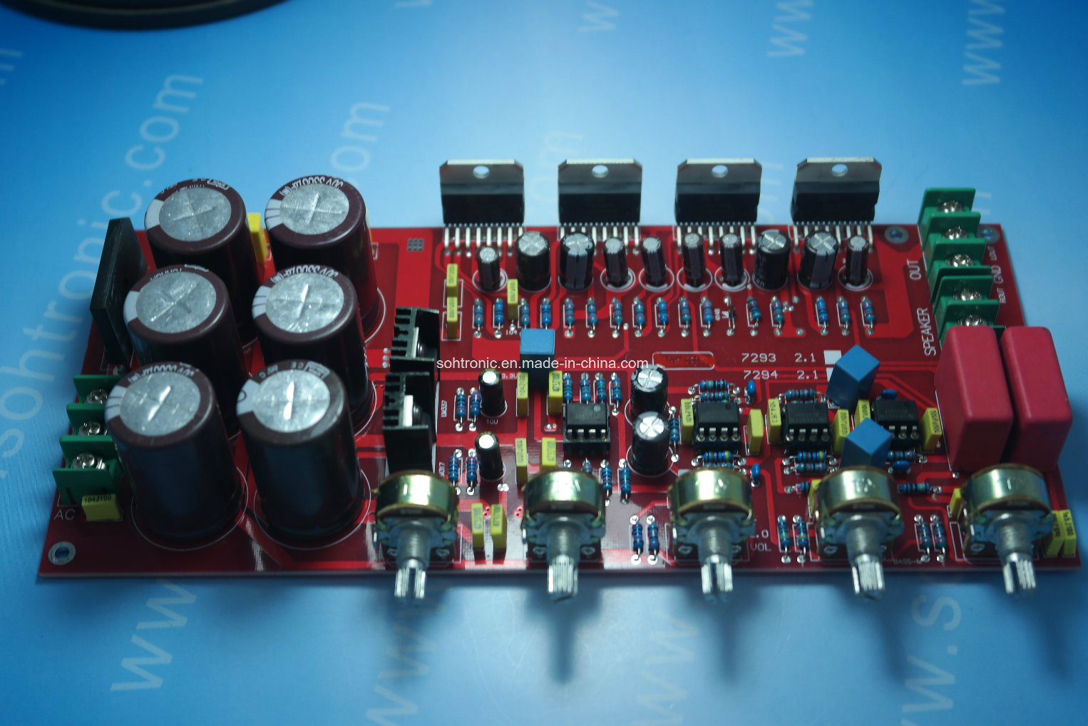 China Tda7294 21 Amplifier Module Photos Pictures Made In Chinacom 100w Audiio