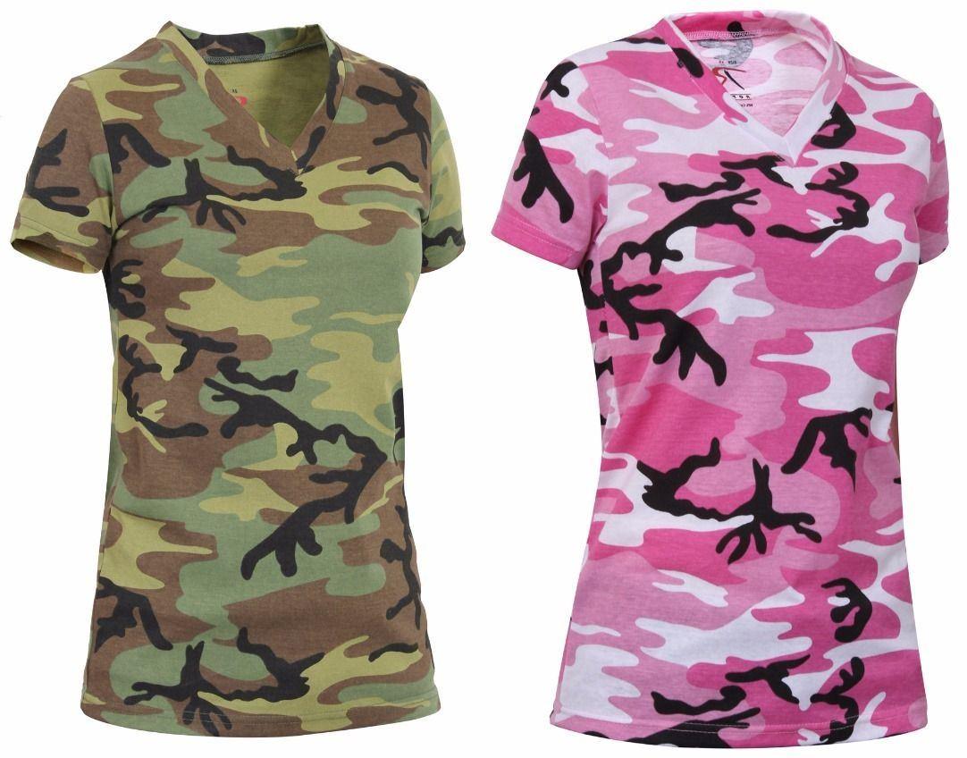 4e83f82e China Women′s Pink Blue Green Dry Fit Camo V-Neck Camouflage T-Shirt -  China Blue Camo T Shirt, Pink Camo T Shirt