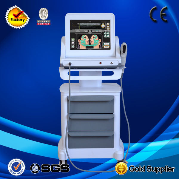 [Hot Item] Hifu Aesthetic Ultrasound Machine for Skin Tightening Wrinkle  Removal Face Lift