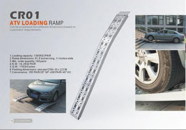 ATV Loading Aluminum Car Ramp