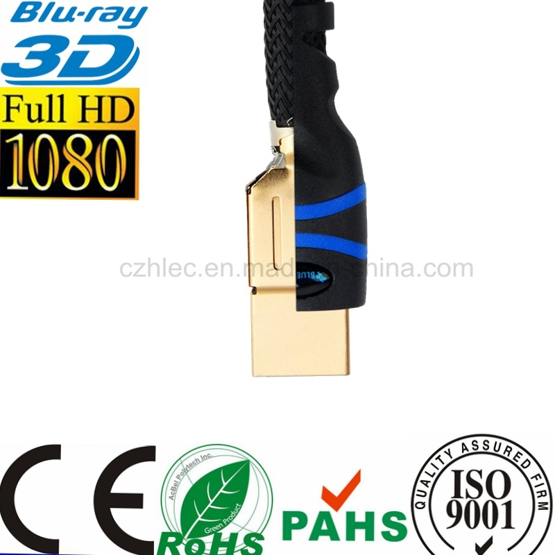 Latest 1080P 3D Blue Ray HDMI to HDMI Cable pictures & photos