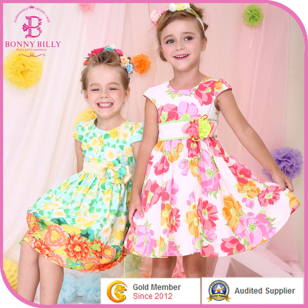 China Kids Party Wear Dresses, Flower Baby Girl Frocks - China Kids ...