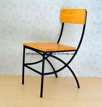 Furniture Restoring Ancient Ways American Wrought Iron Chairs Hotel Restaurant Chair Leisure Solid Wood Outdoor M X3366