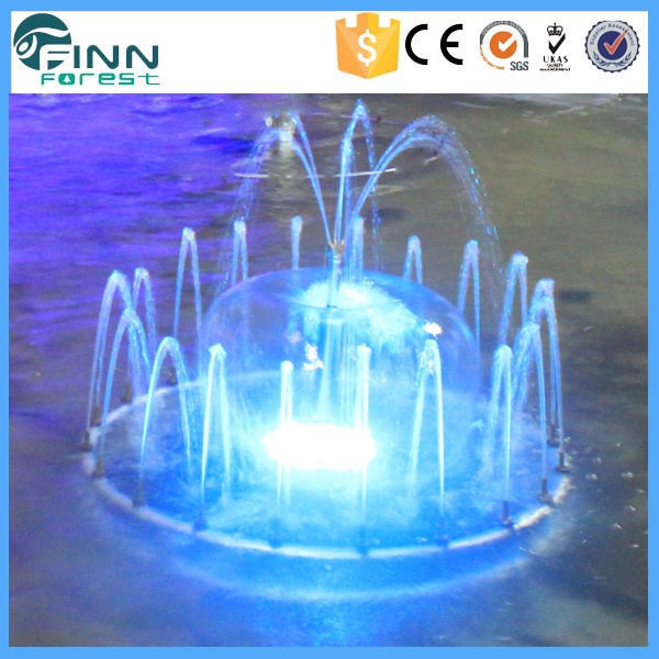 China Garden Decoration Small Fountain Led Light Indoor Water