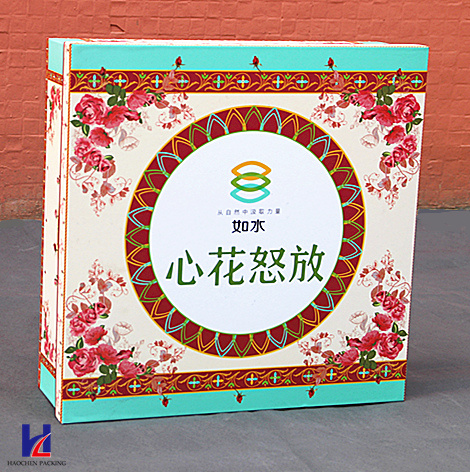 Custom Elegant High Quality Color Printing Cardboard Gift Box