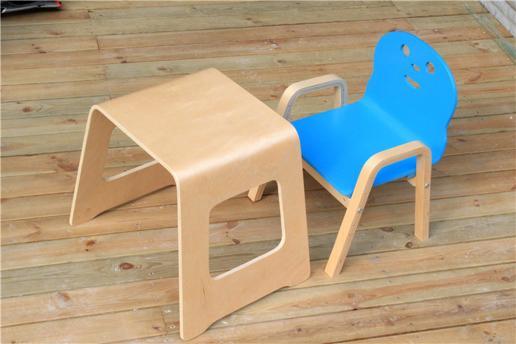 Benjamin Stool Bentwood Stool Children Study Table (M-X1029)