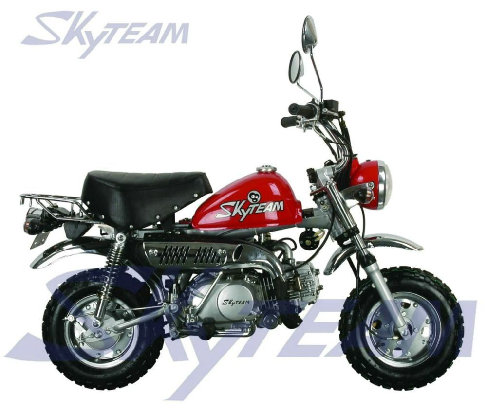China Skyteam Classic Motorcycle Monkey Bike Vintage Bike Mini Motor 50cc 125cc EEC Euro4 Efi - China Monkey Bike, 125cc Motorcycle