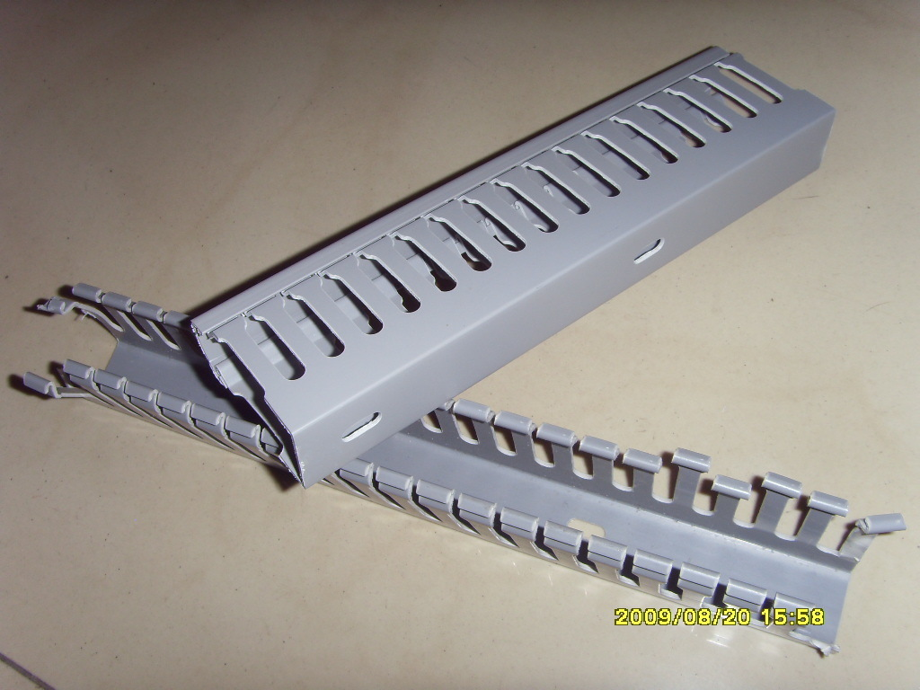 China 40x60mm Pvc Slotted Wiring Duct Photos Pictures Made In Open Slot