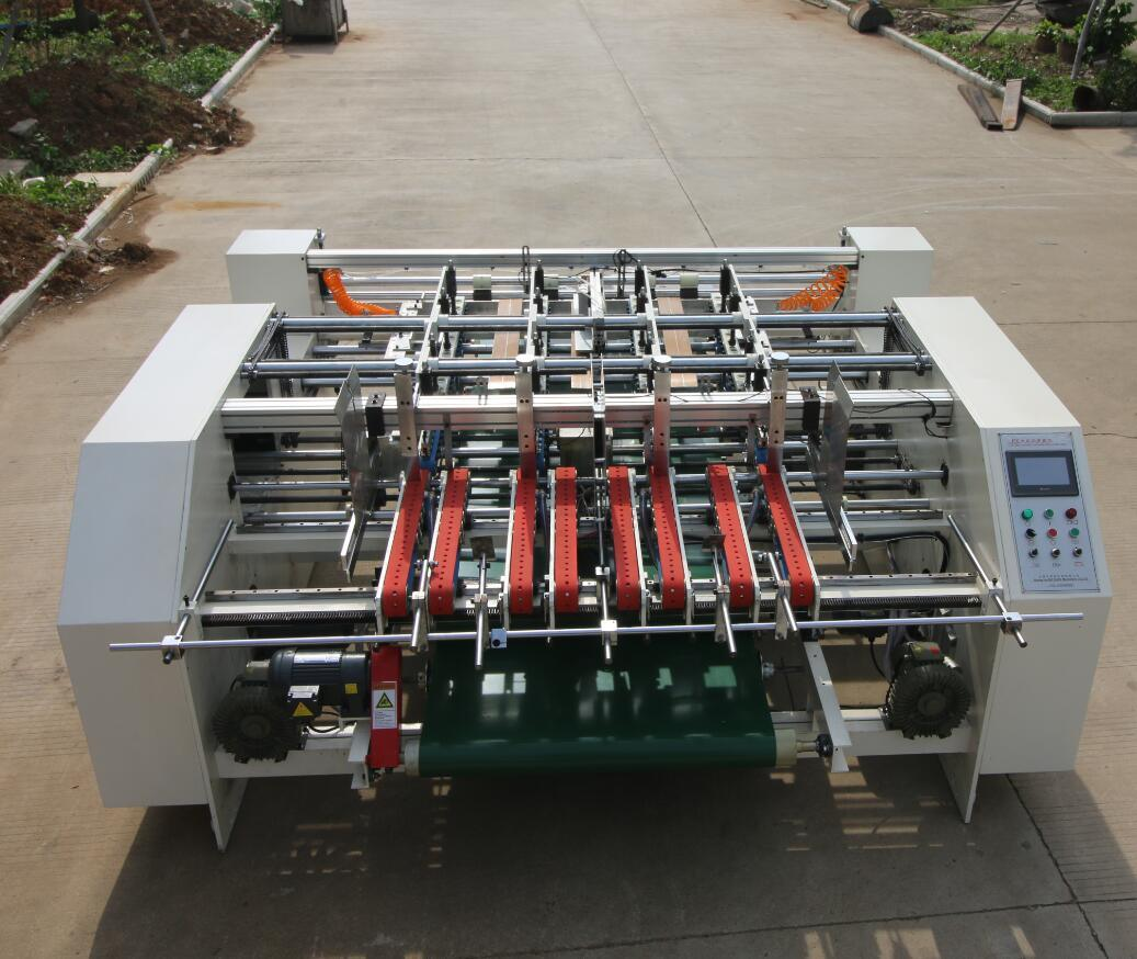 Px-2100 Semi Automatic Carton Folder Gluer Machine