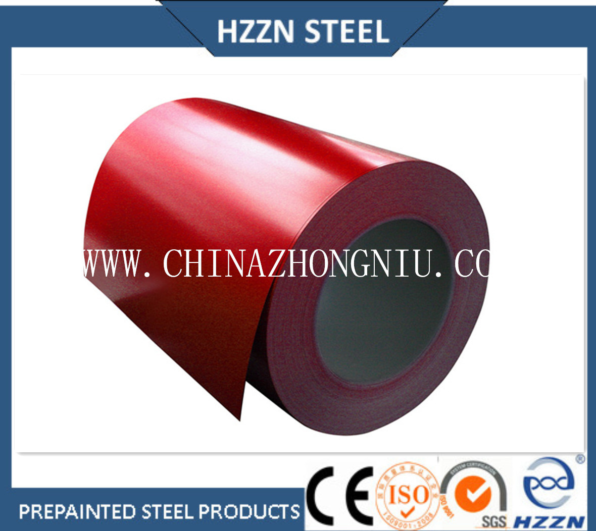 Prepainted Galvanized Steel Coil (factory)