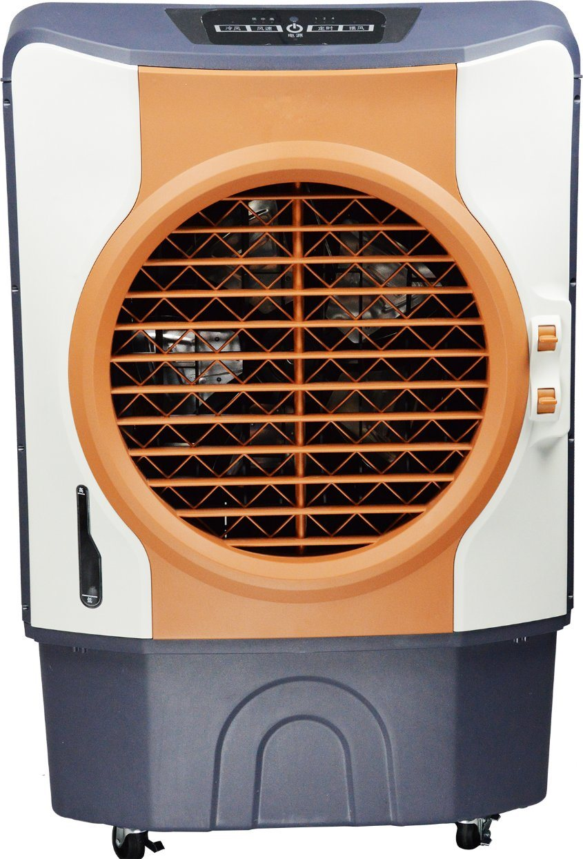 3000CMH Economical Room Air Cooler/Portable Air Conditioner with 60L Water Tank and LED Panel & Remote Control for Indoor/Outdoor/Commercial Use