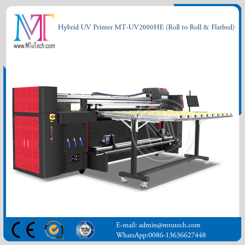 2 Meters Large Format Inkjet Printing Machine Printer Flatbed and Roll to Roll LED UV Printer Digital Printer pictures & photos